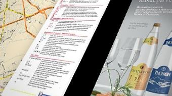Advertising in Michelin maps and guides