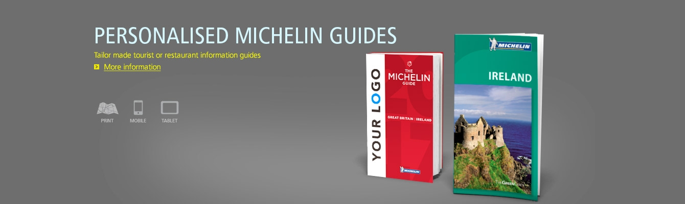 Customised Michelin Guides